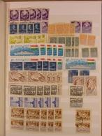 WORLD - Many Blocks Of 4 - (3071) Mostly Older Material. - Sammlungen (im Alben)