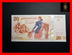 TUNISIA 20 Dinars 2011 P. 93 B  College Sadiki  UNC - Tunisia