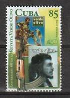 Cub2019 60th Anniversary Of Olive Green's Magazine. Che Guevara 1v MNH - Explorateurs