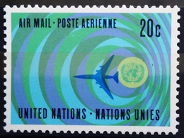 NATIONS-UNIS  NEW YORK                   PA 13                    NEUF** - Poste Aérienne