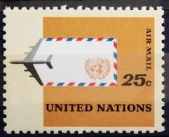 NATIONS-UNIS  NEW YORK                   PA 14                    NEUF** - Poste Aérienne