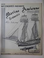 MARINE- TRABACOLO- PLAN Pour Construire Une MAQUETTE Au1/50 - Other
