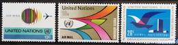 NATIONS-UNIS  NEW YORK                   PA 19/21                    NEUF** - Poste Aérienne