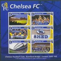 Grenada 2002 Britische Fußball-Vereine Kleinbogen 5132/37 K Postfrisch (C94606) - Grenade (1974-...)