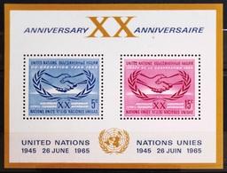 NATIONS-UNIS  NEW YORK                   B.F 3                    NEUF** - Blocks & Kleinbögen
