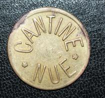 """Jeton De Nécessité De Cantine """"1F Cantine Nué (502e Régiment De Chars De Combat)"""" - Notgeld"""