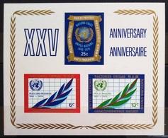 NATIONS-UNIS  NEW YORK                   B.F 5                    NEUF** - Blocks & Kleinbögen
