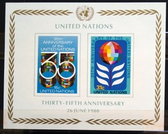 NATIONS-UNIS  NEW YORK                   B.F 7                    NEUF** - Blocks & Kleinbögen