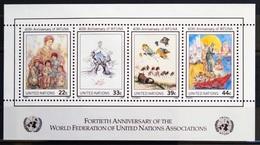 NATIONS-UNIS  NEW YORK                   B.F 9                    NEUF** - Blocks & Kleinbögen