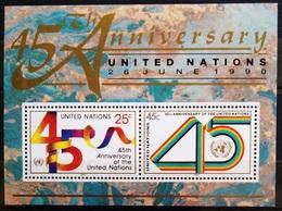 NATIONS-UNIS  NEW YORK                   B.F 11                    NEUF** - Blocks & Kleinbögen