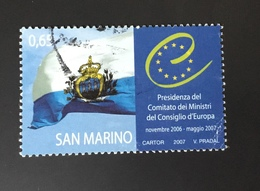 San Marino 2007 Presidenza Sassone 2128 - San Marino