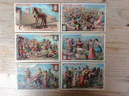(L) Belgie, Frans, S365, Reeks Van 6, De Troy Oorlog . - Liebig