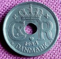 DENEMARKEN : BEAUTY ! 25 ORE 1944 In EXCEPTIONAL QUALITY  KM 823.2a Br. UNC !! - Denmark