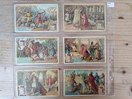 (L) Belgie, Frans, S372, Reeks Van 6, Karel De Grote. - Liebig