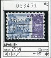 Spanien - Spain - Espana - Espagne - Michel 2559 - Oo Oblit. Used Gebruikt - 1981-90 Usados