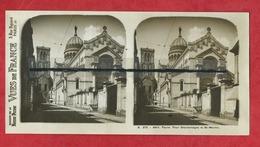 Vue Stéréoscopique  - Tours  - Tour Charlemagne Et St Martin - Tours