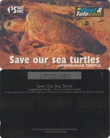 26/ Fiji; P79. Loggerhead Turtle, CN 17FIC - Fiji