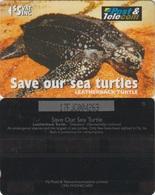 27/ Fiji; P80. Leatherback Turtle, CN 17FJC - Fidji