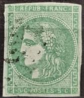 FRANCE 1870 - Canceled - YT 42Ba - 5c - 1870 Emisión De Bordeaux