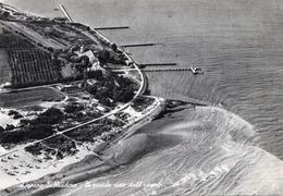 CT-03633- LIGNANO SABBIADORO - IL PONTILE VISTO DALL'AEREO - VIAGGIATA 1959 - Italie