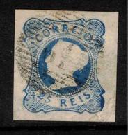 PORTUGAL 1853 25r Blue Queen Maria II SG 4 U ZZ145 - 1853 : D.Maria