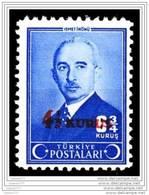 (1167) 1943  4 1/2 KRS SURCHARGED POSTAGE STAMP MNH** - Nuovi