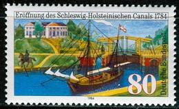 BRD - Mi 1223 - ** Postfrisch (D) - 80Pf  200 Jahre Schleswig-Holstein-Kanal - Unused Stamps