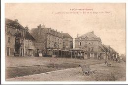 14 1 006 - LANGRUNE - Rue De La Plageet Les Hotels (Hopital Complémentaire N°35) - Otros Municipios