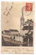 14 0 073 - BANNEVILLE SUR AJON - L'Eglise Et L'Ecole - Andere Gemeenten