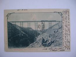 CHILE - POST CARD FROM ANTOFAGASTA , PUENTE SOBRE EL RIO LOA IN THE STATE - Cile