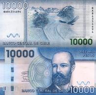 CHILE, 10000 Pesos, 2018, P164g, UNC - Chile