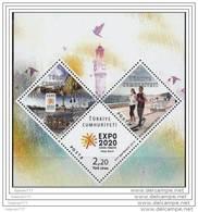 (4012-14 BL98) TURKEY EXPO 2020 IZMIR CANDIDACY SOVENIR SHEET MNH** - Unused Stamps