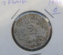 France 2 Francs 1944 C - France