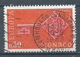Monaco YT N°749 Europa 1968 Oblitéré ° - Used Stamps