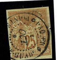 Lot 204    COLONIES GENERALES  YT 44   GUADELOUPE PAQ Français - France (ex-colonies & Protectorats)