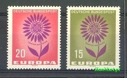 Germany - Federal Republic 1964 Mi 445-446 MNH ( ZE5 GRM445-446 ) - Deutschland