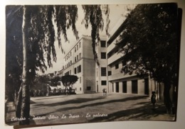 Cetrano (Cosenza) - Istituto Silvio Lo Piano - La Palestra - Scritta - 1962 - Italy