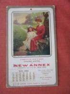 May 1911  Calender     Grand Hotel NY  Out Pf Album Glue Spots On Back Ref 4069 - Pubblicitari