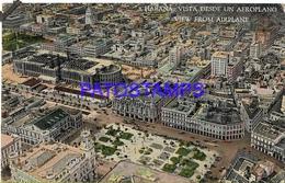 133638 CUBA HABANA VIEW FROM AIRPLANE POSTAL POSTCARD - Cartes Postales