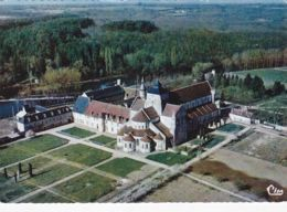 Fontgombault - Abbaye Du XIIe S - Vue Aérienne - France