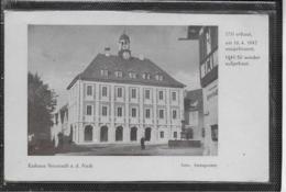 AK 0487  Neustadt An Der Aisch - Rathaus-Einweihung Am 25. Februar 1951 - Bad Windsheim