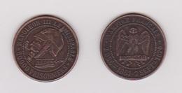 Napoléon III - Monnaie Satyrique   REPLIQUE - France