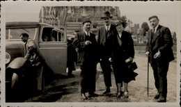 PHOTO AMATEUR 7/11 CM... CONGRES DE VILLERS SUR MER EN 1939 ..LE MONT ST-MICHEL   ANIMEE..      VOIR  DOS - Luoghi