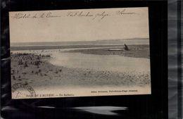 CARTE POSTALE Rare Baie De L Authie Hutteau En L'état Sur Les Photos - Quend