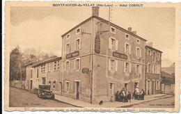 MONTFAUCON-du-VELAY : Hôtel CORNUT - Eau Courante, Chaude Et Froide - Chauffage Central- Salle De Bains-Cuisine Renommée - Montfaucon En Velay