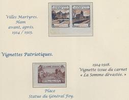 HAM  Somme - Vignettes Militaires