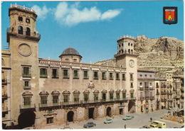 Alicante: IMOSA DKW F89 L, RENAULT DAUPHINE, VW 1200 KÄFER/COX, SEAT 800 - Plaza 18 De Julio. Ayuntamiento - PKW