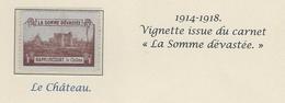 HAPPLINCOURT  VILLERS CARBONEL   Somme - Vignettes Militaires