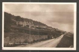 Carte P De 1928 ( Les Ponts-de-Martel ) - NE Neuchâtel