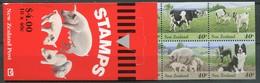 New Zealand Mi# 1441-50 Postfrisch/MNH - Fauna Farm Animals Booklet - Unclassified